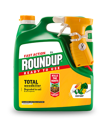 Roundup Total Fast Action Ready to Use 3.0L