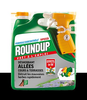 Roundup Action Rapide 3L Effets 1H*