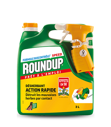 Roundup Action Rapide Multi-usage 3L Effets 1H*